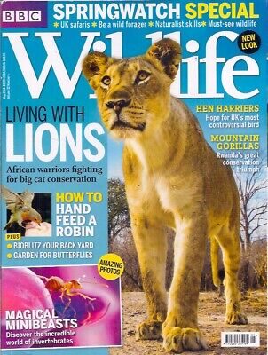 £5 • Buy BBC Wildlife Magazine-MAY 2014-LIVING WITH LIONS.