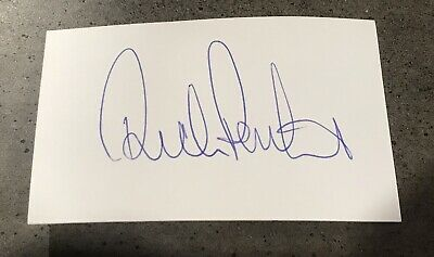 AU19.95 • Buy Ricky Ponting Signed Index Card With COA