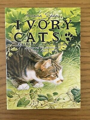 £1.50 • Buy Joanna Sheen 2 X Papercraft CD's Set 'Ivory Cats' Craft Room Clear Out