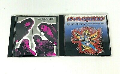 $ CDN11.19 • Buy Starship CD Lot Of 2 No Protection And Greatest Hits 1979-1991