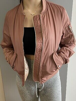 AU2.40 • Buy Womans Pull And Bear Bomber Jacket Xs