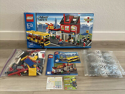 £71.89 • Buy Lego City Corner Pizza Shop 7641 100% Complete Never Played With, Retired