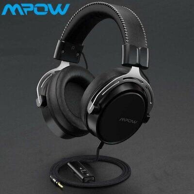 AU41.87 • Buy Mpow Gaming Headset LED Headphones Bass Surround Mic For PC Laptop PS4 Xbox One