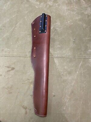 $79.95 • Buy 51c Wwii Us Army M1 Garand Rifle Leather Carry Case Scabbard