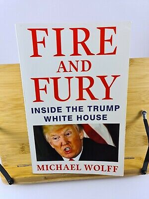 AU7.95 • Buy Fire And Fury - Inside The Trump White House - Michael Wolff - AUST SELLER!