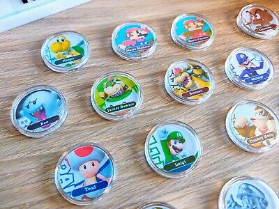 AU5.95 • Buy Super Mario Series Amiibo PICK ANY Coin Card NFC Switch