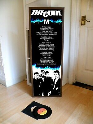 £14.99 • Buy The Cure M Promo Poster,lyric Sheet,goth,joy,division,siouxsie