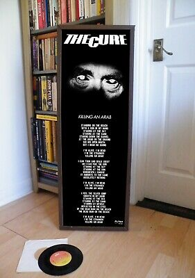 £14.99 • Buy The Cure Killing An Arab Promo Poster,lyric Sheet.forest,goth,