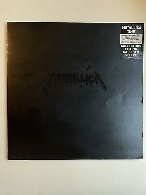 £19.99 • Buy Metallica One Collectors Edition Gatefold Sleeve And Booklet Rare METG512
