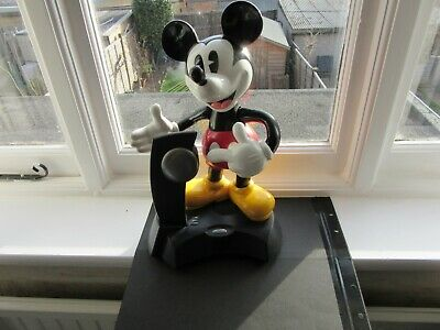 £52 • Buy Vintage Disney Rare Micky Mouse Land Line Telephone Phone In Good Working Order.