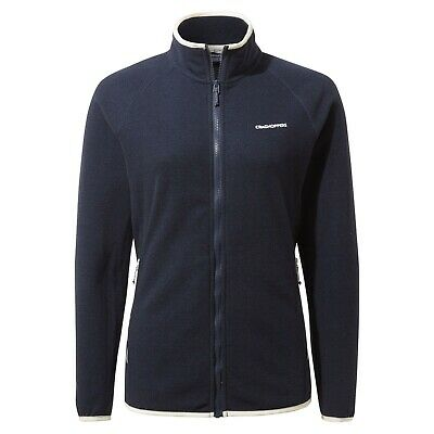 £23.50 • Buy Craghoppers Womens Zoella Fleece Jacket Blue Navy Size 20 Recycled Bnwt Rrp £70