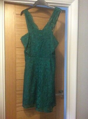 AU20.27 • Buy Ladies Special Occasion/party Dress Green Size 16