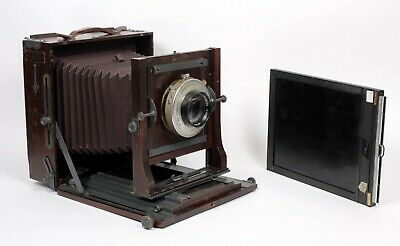 £1412.43 • Buy Century Universal Folmer Swching 8X10 Field Camera With 250mm Lens + Holder