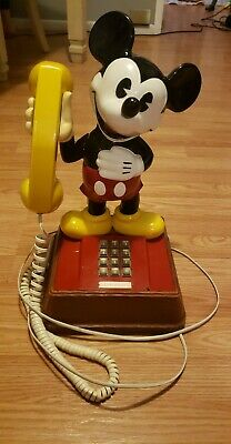 £17.96 • Buy Vintage 1970s Mickey Mouse Phone