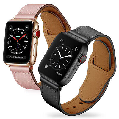 AU27.99 • Buy For Apple Watch Band IWatch Series 6 5 4 3 2 1 Genuine Leather Strap 38 40 42 44