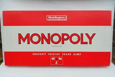 £14.99 • Buy Classic Gaming Monopoly By Waddingtons 1984 Complete Game VGC