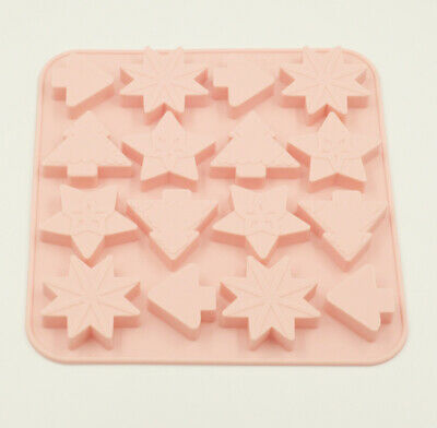 £3.99 • Buy Silicone Christmas Tree Chocolate Cake Ice Tray Wax Mold Baking Mould Soap Jelly
