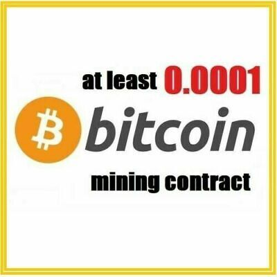 AU8.81 • Buy At Least 0.0001 Bitcoin (BTC) 1 Hour Cryptocurrency Mining Contract