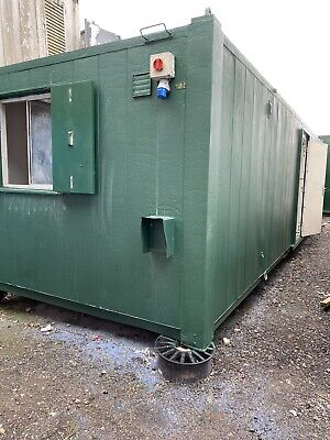 £5950 • Buy Welfare Unit.Site Office.Toilet Block 32ftx10ft Shipping Container.Inc Vat.S45 9
