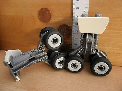 £12.90 • Buy Two Plane Rear Landing Gears Wheel & Chassis Cover 4310 Playmobil New Spares