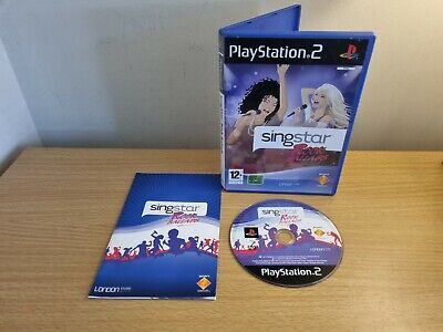 £3.99 • Buy Sony Playstation 2 - Ps2 - Singstar Rock Ballads - Complete - Free Postage