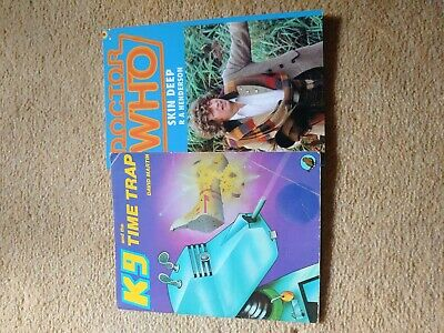 £10 • Buy Doctor Who K9 And The Time Trap Plus Fan Made Book