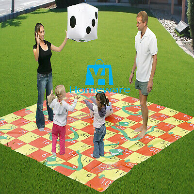 £19.95 • Buy Giant 2 In 1 Garden Games Set Snakes And Ladders Tangle Twister Family Outdoor