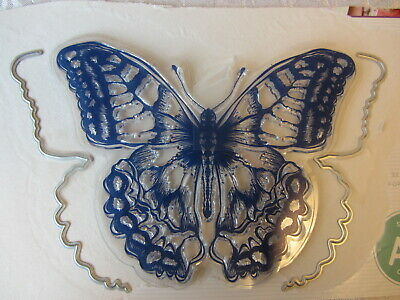 £4 • Buy Crafters Companion Butterfly Stamp And Edge Dies Used