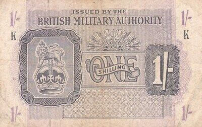 £0.99 • Buy #British Military Authority 1 Shilling 1943 P-M2 AF+ British Troops In N Africa