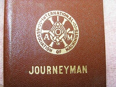 $9.99 • Buy Two 1947-49 Machinists Journeyman Union Dues Stamp Books