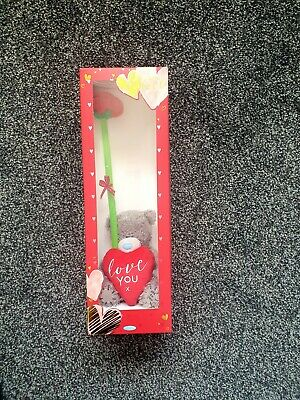 £9 • Buy Me To You Tatty Bear - Love You Teddy With Rose Gift Box