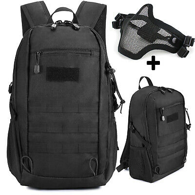 $25.64 • Buy Military Tactical Backpack Molle Rucksack Camping Hiking Travel Bag Assault Pack