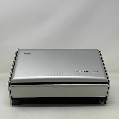 £107.88 • Buy Fujitsu S1500 ScanSnap Color Image Document Scanner PA03586-B005 Pre Owned