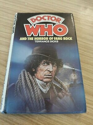 £9.99 • Buy Doctor Dr Who Longbow/ W H Allen Hardback - The Horror Of Fang Rock Ex Library