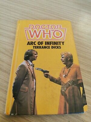 £9.99 • Buy Doctor Dr Who W H Allen Hardback - Arc Of Infinity Ex Library