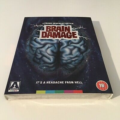 £29.99 • Buy Brain Damage: Limited Edition Arrow Video DVD & Blu Ray NEW & SEALED + Slipcover