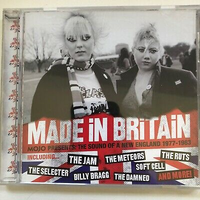 £3 • Buy Mojo CD (2005): Made In Britain. The Sounds Of A New England 1977-1983
