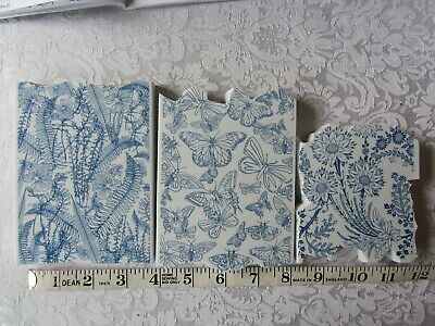 £6 • Buy La Blanche Floral And Butterfly Stamps X 3 Used