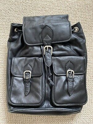 £6 • Buy Visconti Leather Back Pack Used