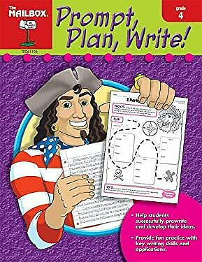 $5.36 • Buy Prompt, Plan, And Write : Grade 4 The Mailbox Books Staff