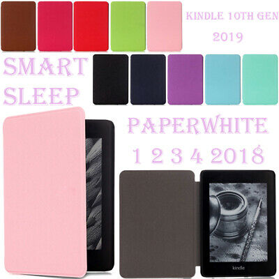 AU11.43 • Buy For Amazon Kindle Paperwhite 1 2 3 4 10th Gen Case Flip Stand Slim Leather Cover