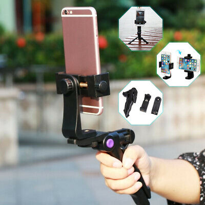 AU7.11 • Buy Handheld Video Stabilizer Tripod Phone Grip Mount Holder Stand For IPhone