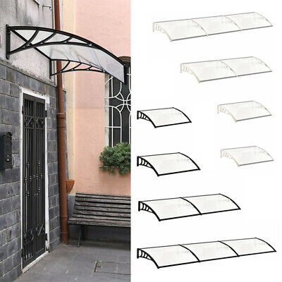 £77.95 • Buy Door Canopy Awning Shelter Front Back Porch Outdoor Shade Cover Patio Roof New