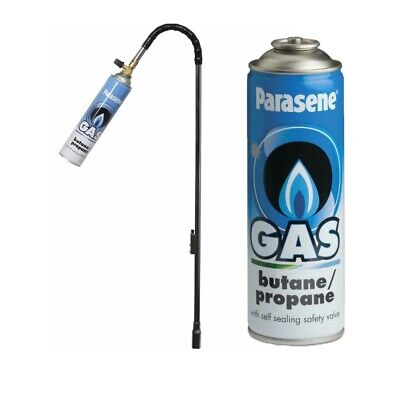 £9.99 • Buy Parasene Garden Weed Wand Killer Burner Blaster Burning Torch And Gas Canisters