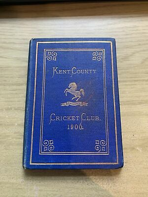 £20 • Buy Kent County Cricket Annual 1900 'Blue Book'
