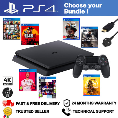 $ CDN362.78 • Buy Playstation 4 Ps4 - Choose Your Bundle - 500gb Black Console + Game + Controller