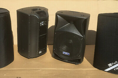 £1250 • Buy PAIR USED - FBT ProMaxx 14a Active Powered Speakers With Padded Covers 33275 #1