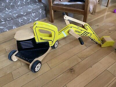 £50 • Buy PinToy Digger Wooden Sit On Toy