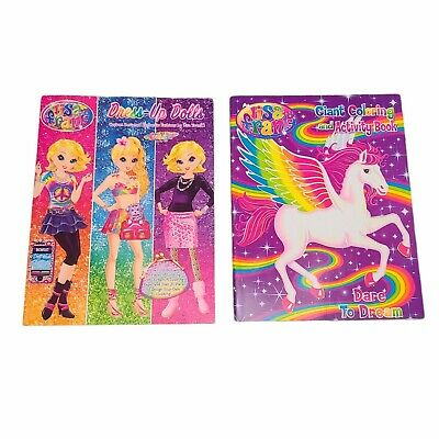 £7.21 • Buy Lisa Frank Paper Dress-Up Dolls Book With Stickers & Coloring Activity Book NEW