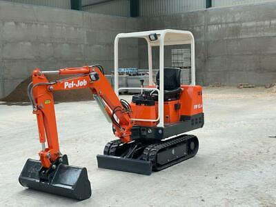 £8950 • Buy 1997 Pel-job (Volvo) Mini Digger  Immaculate Condition (1560) Hour